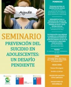 SEMINARIO_ Prevención del Suicidio Adolescente_Temuco