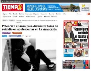 Prensa Araucanía Tiempo21